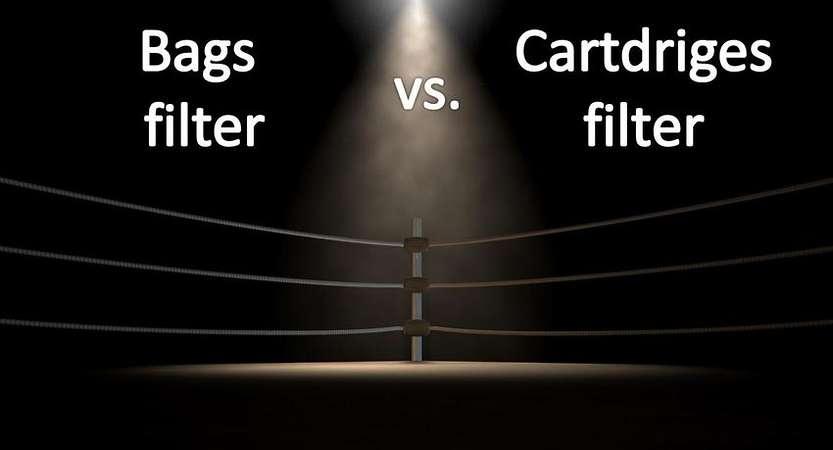 Bag filters Vs. cartridge filters