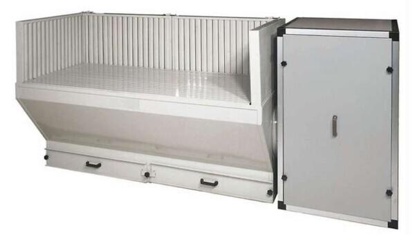 Vacuum bench BAF model