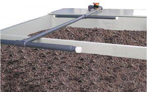 Biofilter humidification system