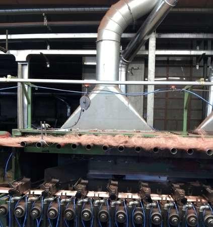 Pneumatic conveyor system and hood