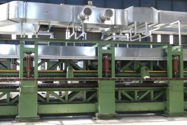Double belt heating system