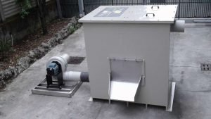 Polypropilen active carbon filter for wastwater air treatment