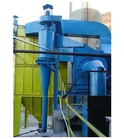 Cycloninc separator stage