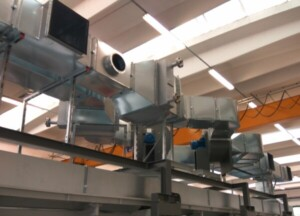 Colombia: Installation of a double belt heating system