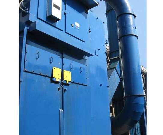 Electrostatic precipitator (detail)