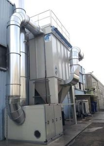 Application 3: filter for rubber dust collection