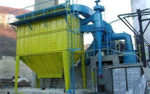 Complete high temperature dust collection system