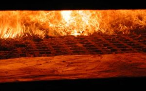 Solid biomass combustion