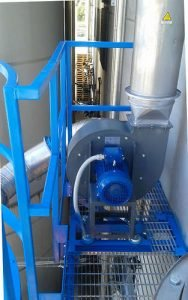 Application 2: Installed centrifugal fan