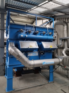 Application 3: ATEX filter with breakage panel and non return valves