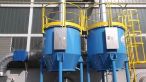 ATEX activated carbon filter for solvent abatement