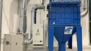 Cartridge filter for grinding dust filtration