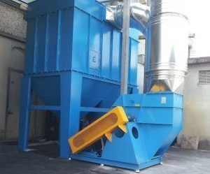 Cartridge filter and centrifugal fan