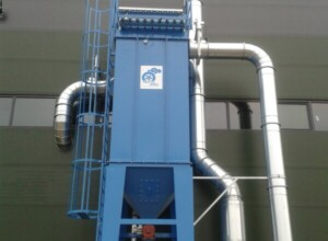 Application 1: Bag filter with diverter valve