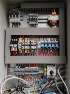 Application 1: electrical panel