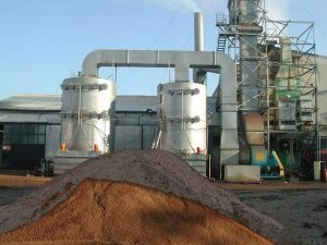 Application 2: scrubber and pomace