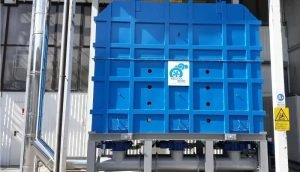 Application 2: Thermal Oxidizer for abrasives production