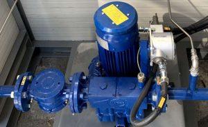 Application 2: blower for gas pressure adjustment
