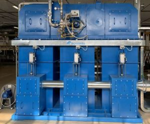 Application 1: Thermal Oxidizer for VOCs oxidation in pipes coating plant