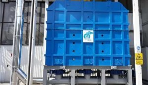 Thermal Oxidizer for abrasives production