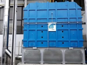 Thermal Oxidizer with protection system