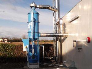 Wet Scrubber for biomass