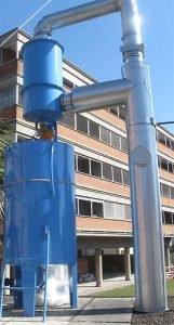 Wet system for combustion emissions