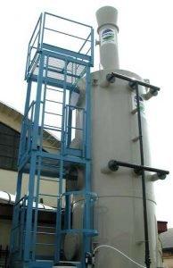 Application 4: scrubber for rubber vulcanization
