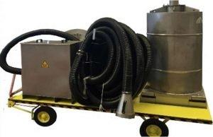 Portable air cleaner for VOCs abatement
