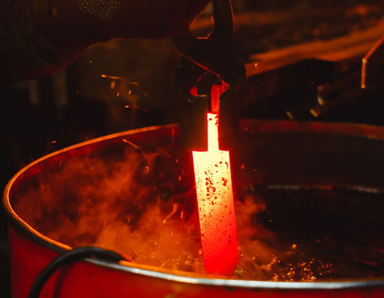 Annealing process of steel