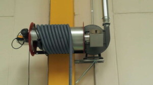 Application 2: hose reel for direct cleaning