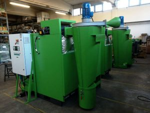 Turbovortex multicyclon for biomass boilers