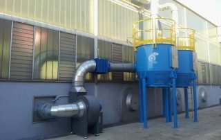 Application 2: ATEX active carbon filter