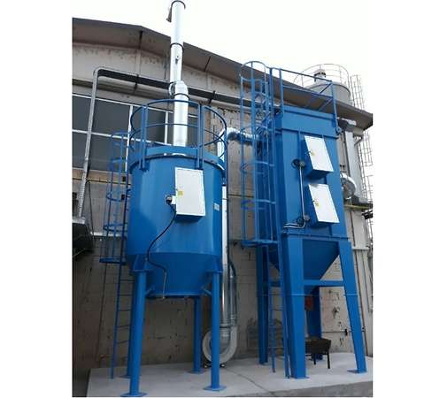 Bag filter and activated carbon filter