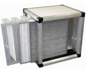 Mechanical filtering unit
