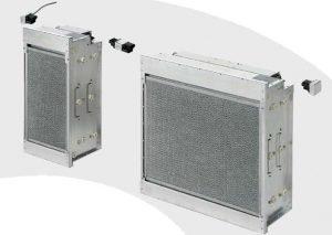 Electrostatici filtering unit