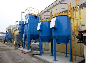 Application 1: multi-stage ATEX system for dust collection and VOC filtration