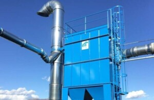 Application 1: Dustdown self-cleaning bag filter for rubber dust