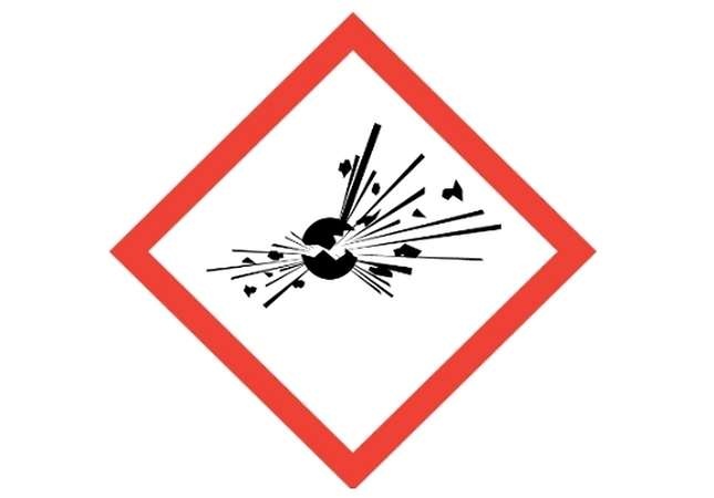 Danger of explosion