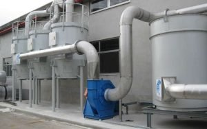 Oil mist filtration and VOC purification system