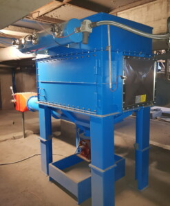 ATEX cartridge filter for small spaces